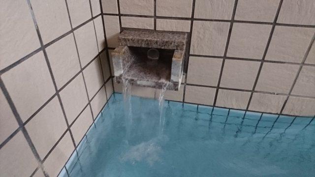 小野川温泉滝の湯・湯口