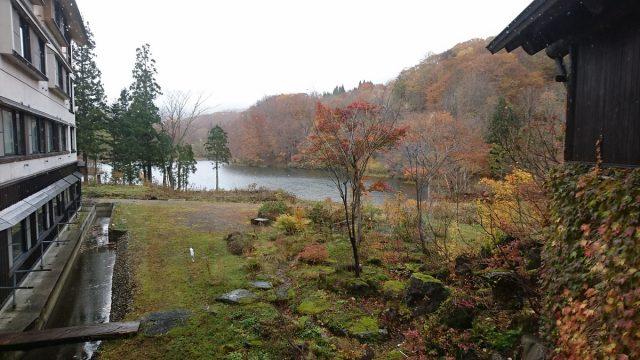 五色沼と紅葉