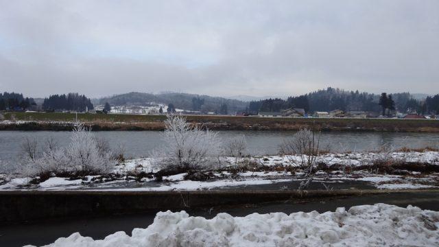 大石田冬景色